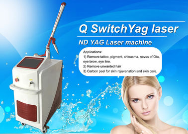 Stationary Q Switch Laser Treatment For Pigmentation / Tattoo Temoval Beauty Machine