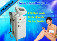 Multi Function ND YAG SHR Elight IPL Hair Removal Machine with 3 Handles OEM / ODM