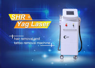 Multi function SHR OPT E- Light Hair Removal Machine / Yag laser tattoo removal machine