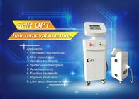 SHR ipl laser hair removal machine , WHITE laser tattoo removal machine