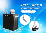 Newest High Quality Q - Switched ND Yag Laser  Tattoo / Pigmentation Removal Machine