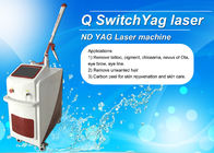 Dual Lamp Q Switched ND YAG Laser Machine Tattoo Removal / Pigmentation Removal Machine
